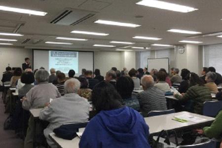 道修町文化講演会の風景
