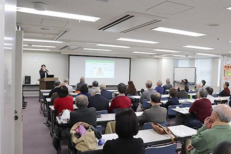 管理栄養士 山内利香氏の講演